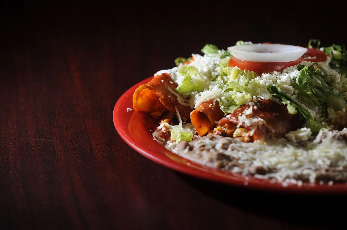 El Patio Taqueria serves traditional Mexican food