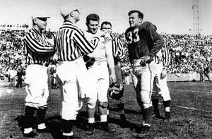 Grape Bowl stadium hosted major football showdown in 1950