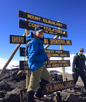 On Mount Kilimanjaro