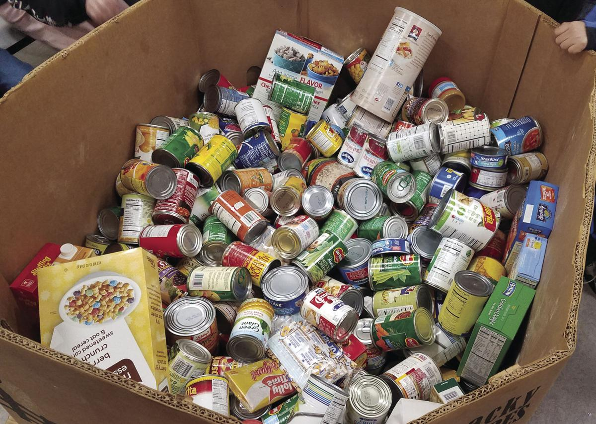Lodi students organize canned food drive as part of program