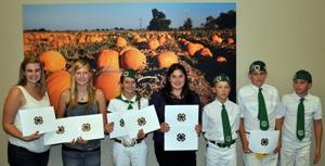 Alpine Victor 4-H members win awards