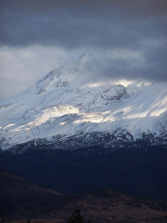 The light before the storm - Mt. Shasta