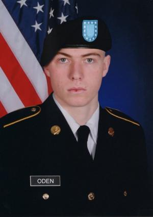 Army PFC Zachary Oden