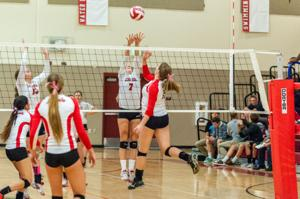 Volleyball: Flames' rally comes up short against defending champion Trojans