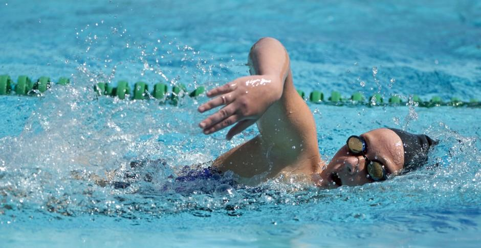 Tri-City Athletic League swimming trials