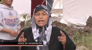 Person wearing Tokay High School sweatshirt appears on video shot in Syria