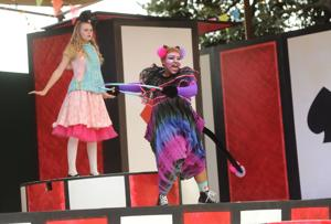 'Alice in Wonderland' visits Lodi winery