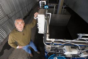 Lodian Ken Sasaki hopes to boost organic sanitation