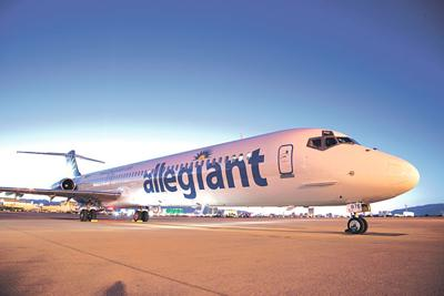 Allegiant Air Flies From Stockton To Socal Business