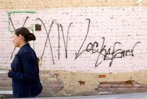 The fight against blight: Chamber trying to rid downtown Lockeford of waste, graffiti