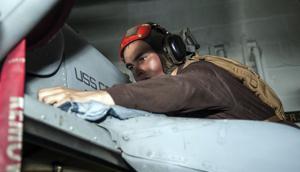 Lodi sailor helps keep aircraft carrier shipshape