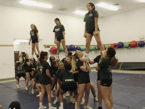 Cheerleading: Hawks prep for King-size performance