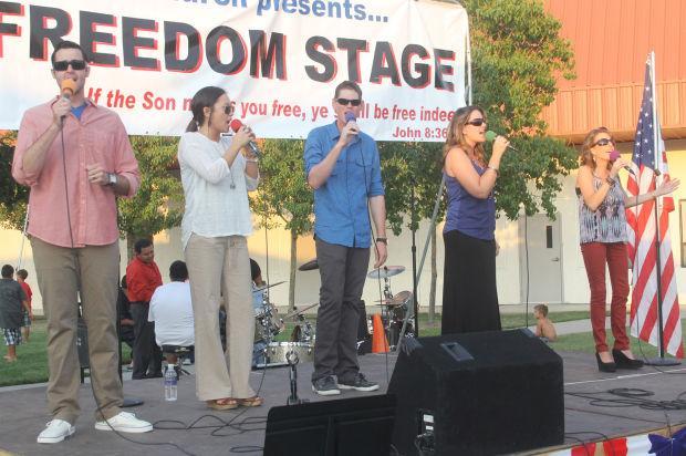 The Home Church celebrates Freedom Fest '13