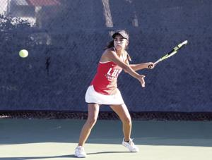High school girls tennis: Flames nipped by Bulldogs in finale