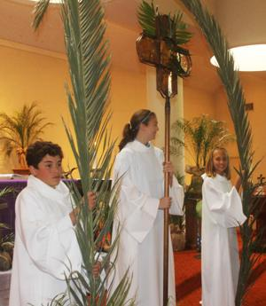 Palm Sunday kicks of Easter week