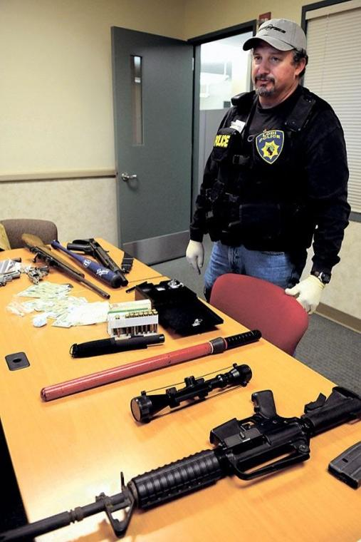 Lodi Police arrest 30 in gang, weapons operation