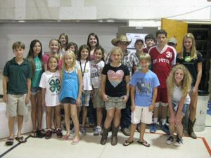 New and Returning Members of Alpine-Victor 4-H Club