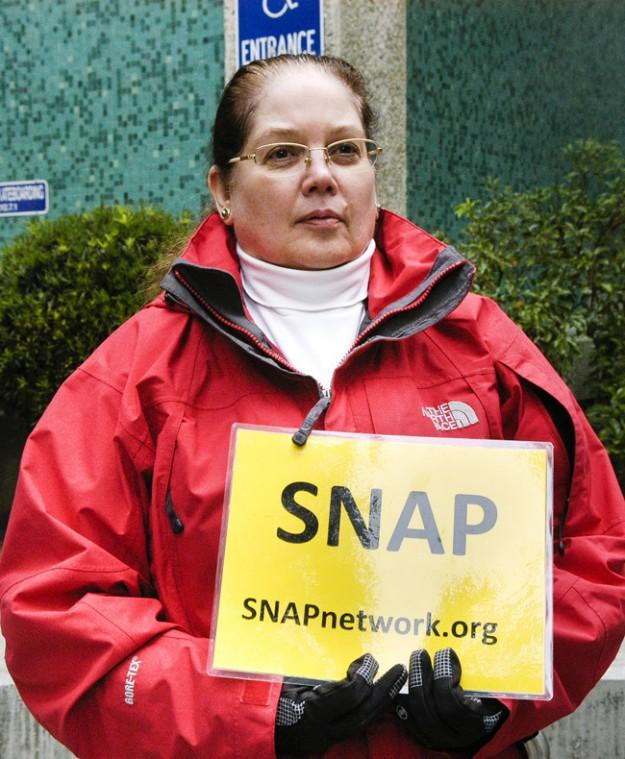 Controversial group SNAP targets local priest
