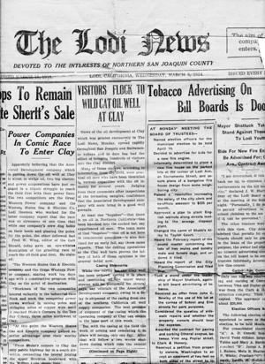 Lodi News provides snapshot of Sports Shorts in 1924