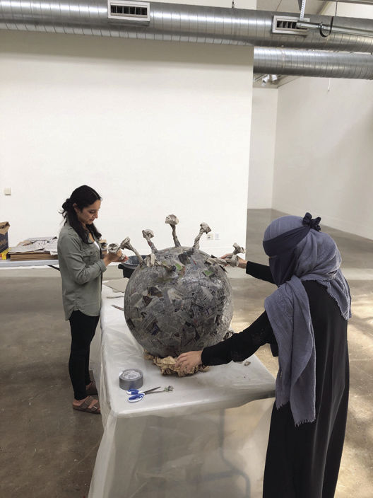 Pacific students take on pandemic with 'Gone Viral' art exhibit