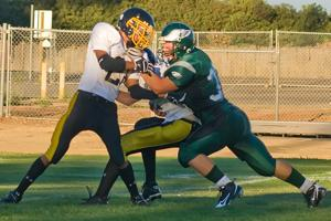 New Eagle offense shows promise