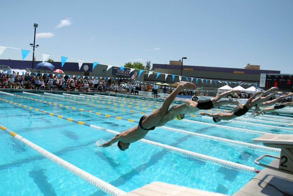 Sac-Joaquin Section swimming championships