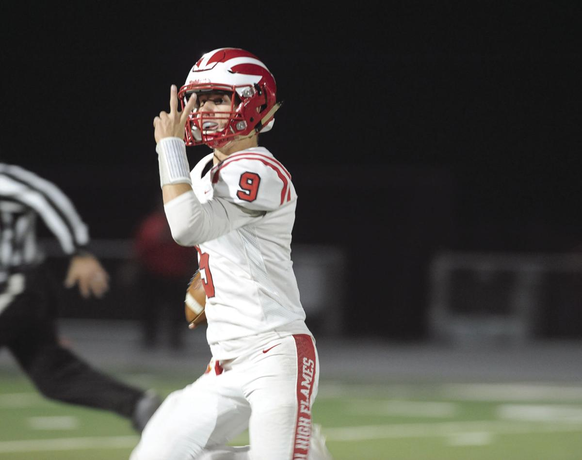 High school football: Flames too Stout for Tigers