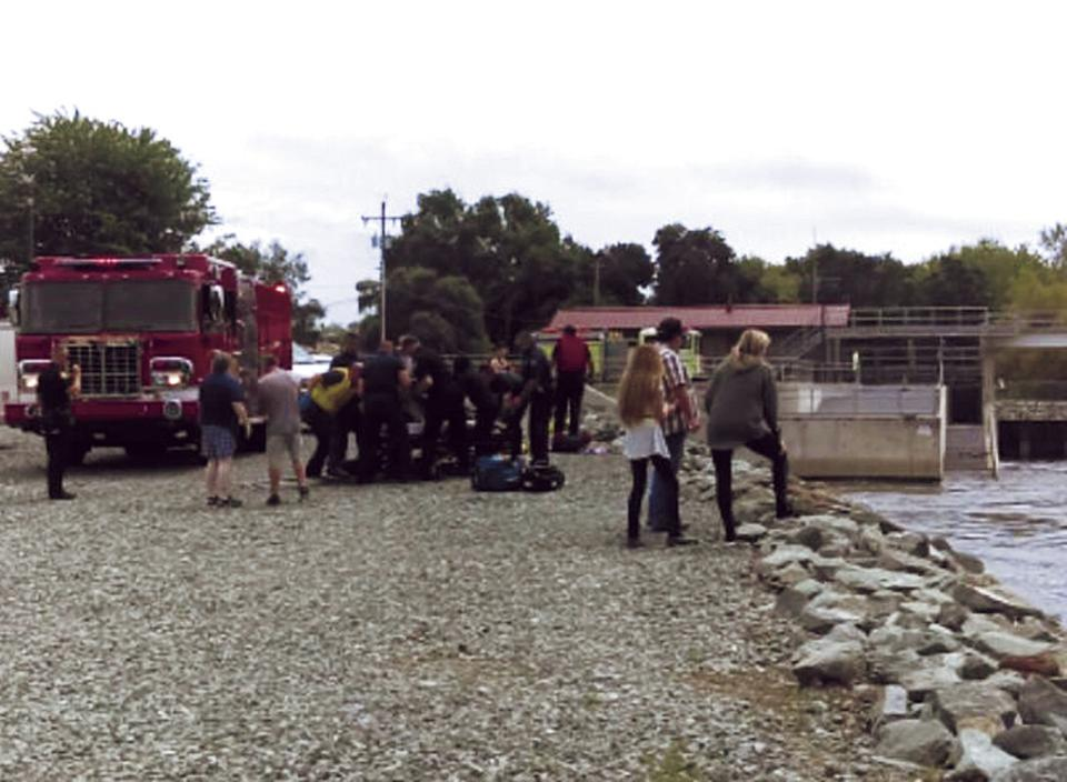 Three rescued from Mokelumne River
