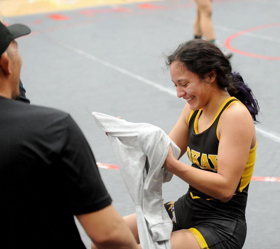Wrestling: Four Tokay girls advance to state