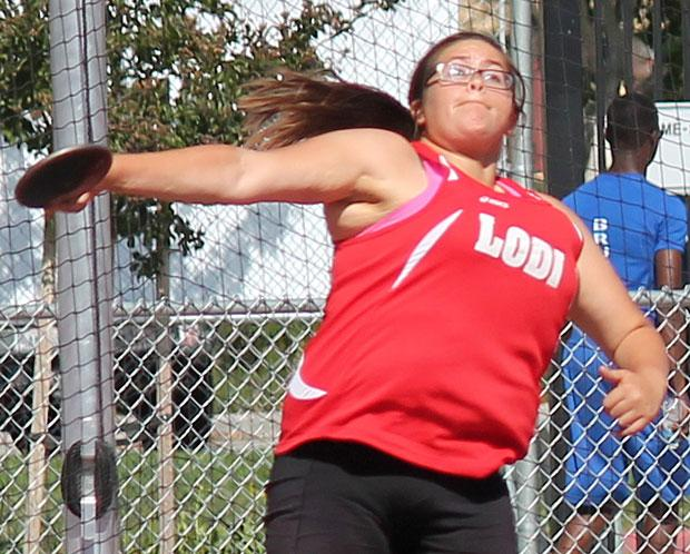 Track and field: Veronica Viramontes leads discus trifecta for Lodi Flames; Tokay Tigers own 1,600