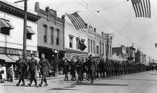 Soldiers wrote home to Lodi from the front in France during World War I