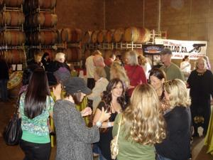 The First Sip at Van Ruiten Family Winery