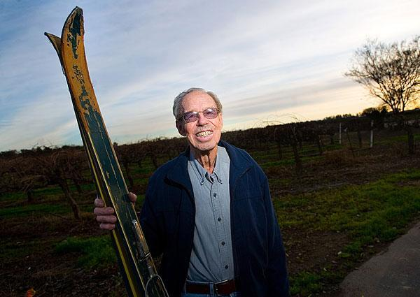 Lodi native Leonard Thompson served as an official in 1960 Winter Olympic Games