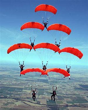 Accident victims both loved skydiving
