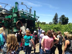 San Joaquin Farm Bureau Federation teaches students about county's agricultural roots