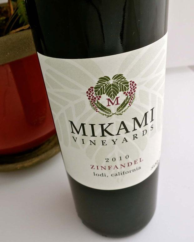 Mikami Vineyard's 2010 Zinfandel is dense, velvety