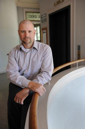 Lodi's new IT director, Benjamin Buecher