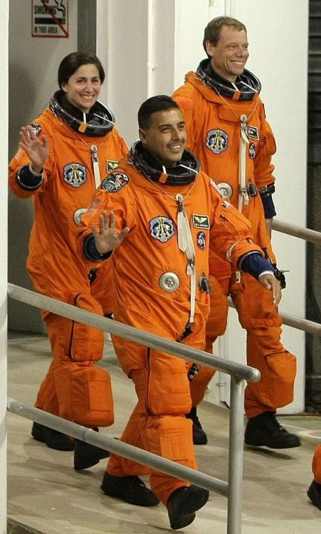 Lodi-area astronaut Jose Hernandez's family excited about launch, which was rescheduled for today due to weather