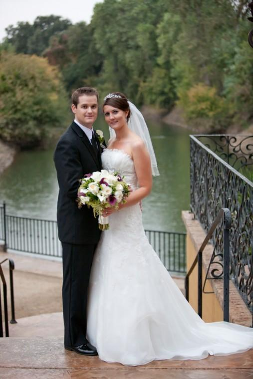 Kevin Hunewill and Nicole Guetzloff married
