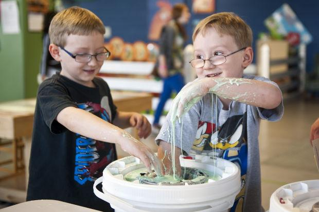 Children explore lungs and airways at World of Wonders Science Museum