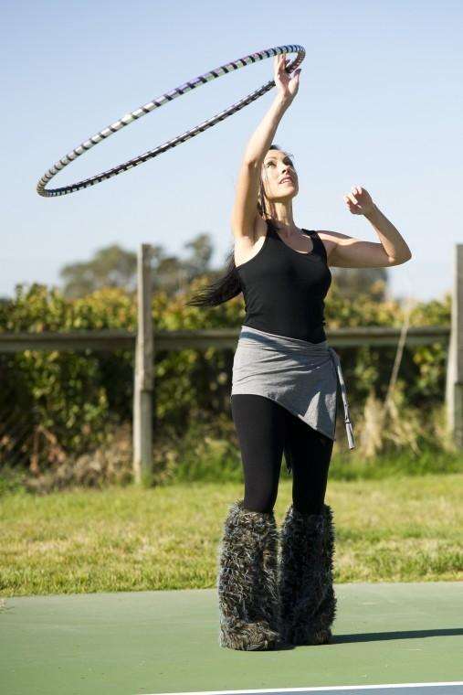 Lodi's Heidi Pfeifle hopes to shine spotlight on hoop dancing