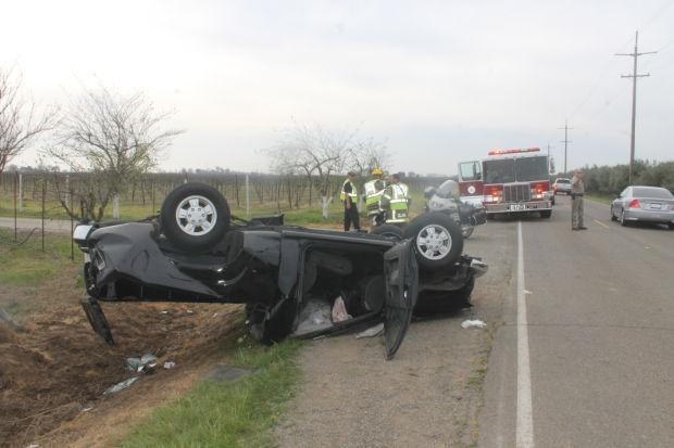 Accident on Peltier Road sends one person to hospital