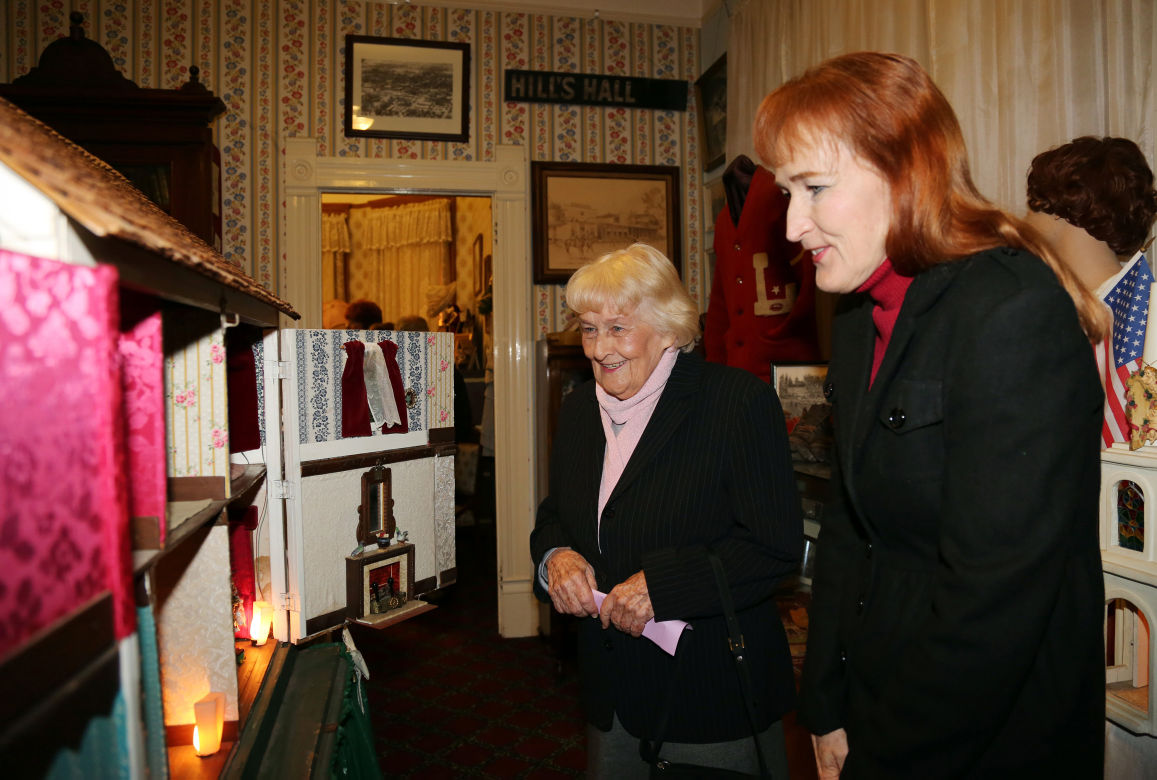 Hill House Museum's Christmas open house