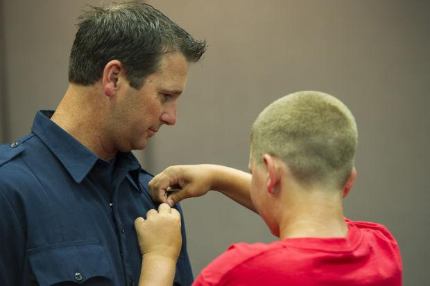 Lodi firefighters receive promotions