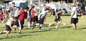 Football: Junior Flames brave heat at camp