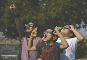 Lodi residents gaze at sky for once in a lifetime experience