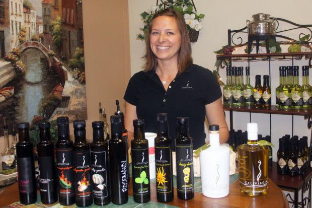 Expert Julie Coldani leads olive oil 101 class