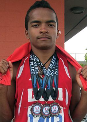 Lodi High School's Elijah McDowell kicks it into overdrive in the summer