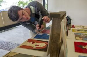 Student art exhibit aims to spark economic growth in downtown Galt