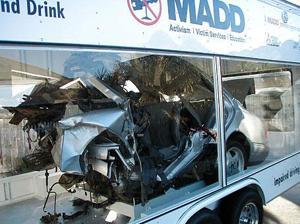 Exhibit will warn of the dangers of drunk driving